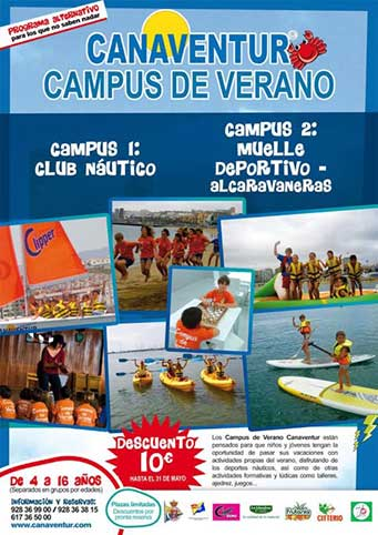 Campamento-de-verano-Canaventur--Dentista-López-Quevedo