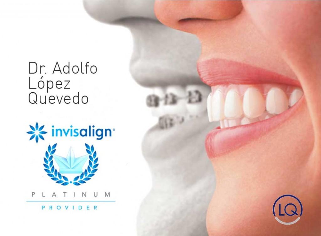 El ortodoncista de Las Palamas, Dr. Adolfo López Quevedo, cuenta con sobrada experiencia en los tratamientos de estética dental y está avalado por Invisalign.